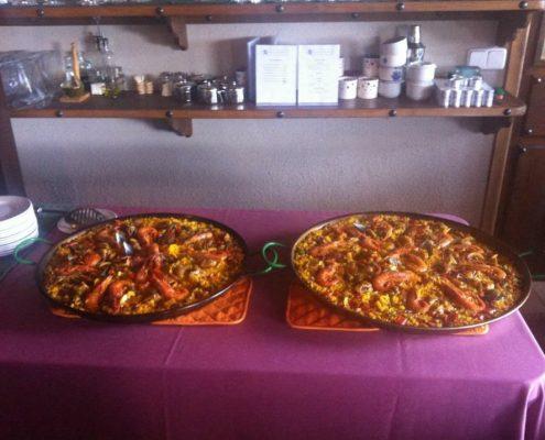 Paella menú