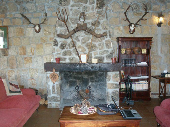 chimenea hotel rural