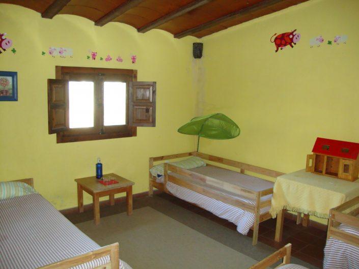 habitación seis plazas