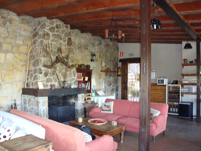 salón hotel rural